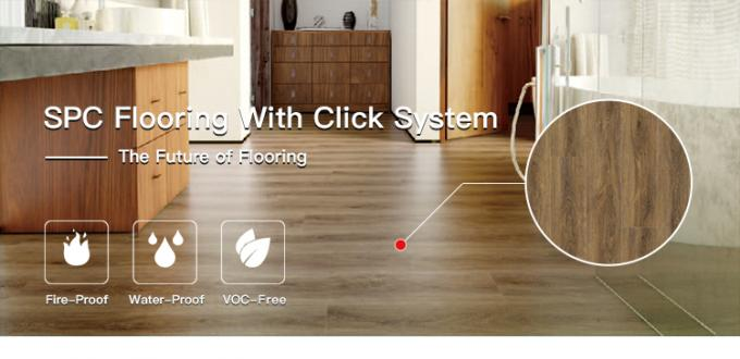 Eco Waterproof SPC Flooring Rigid PVC